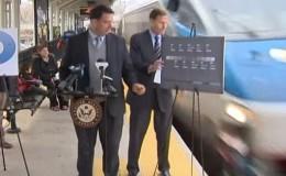 EE.UU.: Tren casi atropella a senador que lanzaba campaña de seguridad ferroviaria
