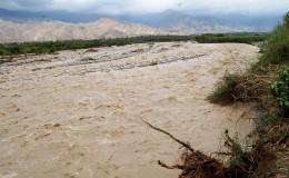 Ica: desborde del río Pisco afectó varias hectáreas de cultivos
