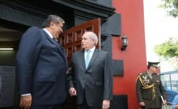 Alan García resaltó liderazgo de Cateriano para reforzar la seguridad ciudadana