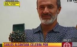 Carlos Alcántara celebró triunfo en Festival de Cine de Málaga
