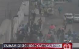 Independencia: cámaras registraron a turba robando en almacén de la municipalidad