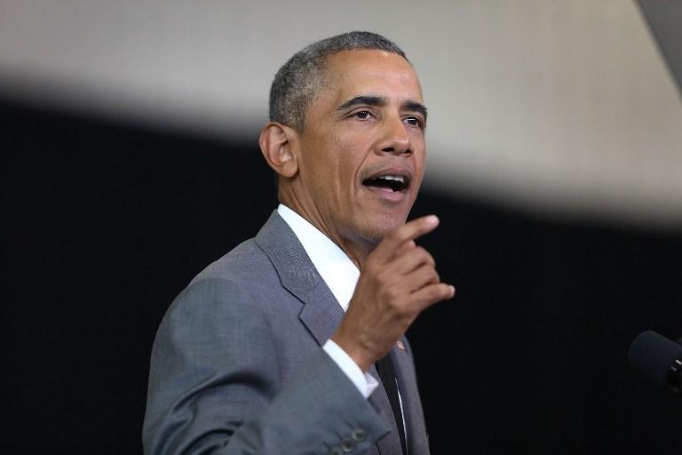 Presidente de Estados Unidos, Barack Obama. (Vía: AFP)