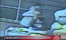 Exclusivo: delincuentes disfrazados de trabajadores robaron en empresa textil