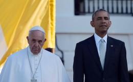 Francisco en Estados Unidos: pontífice asistió a la Casa Blanca