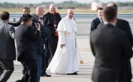 El papa Francisco llegó a Filadelfia en la etapa final de su gira por EEUU