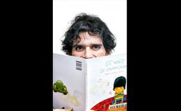 Se agota el primer cuento para niños de Pedro Suárez Vértiz