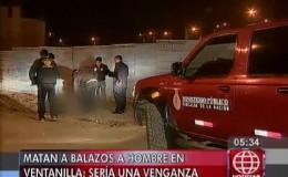 Ventanilla: asesinan a un ex recluso en un descampado, se trataría de una venganza