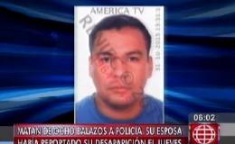 Ventanilla: policía fue encontrado muerto con ocho impactos de bala