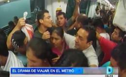 Metro de Lima: mira el drama que se vive al viajar en este sistema de transporte