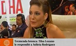 Tilsa Lozano: su reacción cuando Julieta Rodríguez le recordó al 'Loco' Vargas