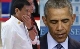 Presidente filipino lamenta haber insultado a Barack Obama