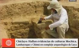 Chiclayo: hallan importantes restos arqueológicos en el complejo de Luya