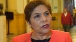Salgado: Aceptaremos renuncia de Rodríguez y convocaremos a Pleno - Noticias de vacancia