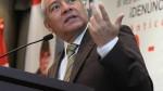 Pedraza sobre Gobierno de Humala: Confunden crítica con ofensa - Noticias de wilfredo pedraza