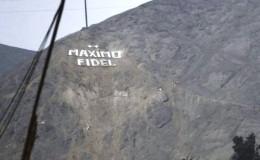 Ate: jefe de la Diroes ordenó colocar su nombre en un cerro