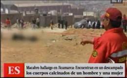 Jicamarca: restos de dos cuerpos calcinados fueron hallados en descampado
