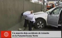 Independencia: accidente vehicular dejó un muerto en la Panamericana Norte