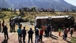 Cusco: accidente de carretera deja cuatro personas muertas - Noticias de accidente