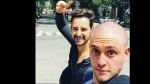 RBD: Christopher Uckermann se rapó la cabeza y alborotó a sus fans - Noticias de angie cepeda