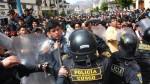 Cusco: dos docentes quedaron heridos en enfrentamientos con la Policía - Noticias de aumento de sueldo