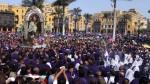 Señor de los Milagros: desvíos por primer recorrido de la procesión - Noticias de iglesia san francisco
