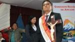 Enrique Vargas asume el Gobierno Regional de Áncash - Noticias de huaraz
