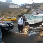 La Molina: accidente vehicular en cerro Centinela ocasionó congestión