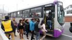 Corredor San Juan de Lurigancho llegará hasta la Av. Tacna desde el jueves - Noticias de avenida juan