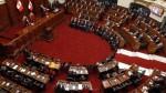 Congreso oficializó Ley contra el Transfuguismo - Noticias de inmunidad parlamentaria