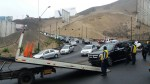 La Molina: accidente vehicular en cerro Centinela ocasionó congestión - Noticias de juan carlos molina