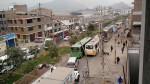 Incendio en El Agustino: congestión vehicular en San Juan de Lurigancho - Noticias de juan ma