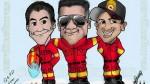 Facebook: dedican emotiva caricatura a los bomberos fallecidos - Noticias de jim edwards