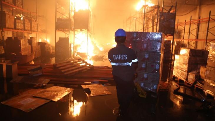 El Agustino: incendio consumió micronutrientes valorizados en casi S/ 3 millones
