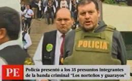 Policías y funcionarios de banco formaban parte de banda criminal