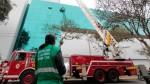 San Isidro: bomberos contarán con moderna escalera telescópica - Noticias de san macos uni villa