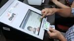 San Marcos utilizó por primera vez el voto electrónico en elecciones - Noticias de mesas de sufragio