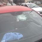 Barranco: roca cayó sobre auto que transitaba por la Costa Verde