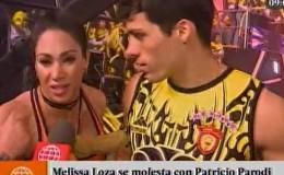 Melissa Loza se molestó con Patricio Parodi por sentencia