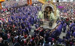 Señor de los Milagros: este es el recorrido de la procesión de hoy