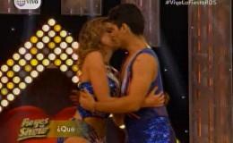 Milett Figueroa confirmó relación con su bailarín 'Pato' en Reyes del Show