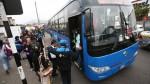 Corredor Azul: pasajeros en desacuerdo por incremento del pasaje - Noticias de rpp noticias
