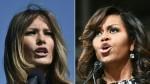 Melania Trump y Michelle Obama se conocen en la Casa Blanca - Noticias de john torres