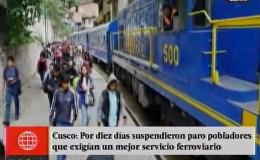 Machu Picchu: pobladores levantan paralización y dan tregua de 10 días