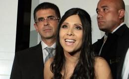 Tula Rodríguez y Javier Carmona celebraron así su aniversario de bodas