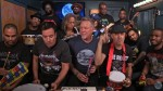 YouTube: Metallica tocó con instrumentos de juguete junto a Jimmy Fallon - Noticias de james hetfield