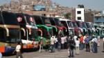 Precio de pasajes el interior del país continúa elevado en terminales terrestres - Noticias de no laborables