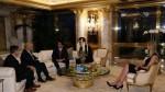 Donald Trump incluyó a su hija en reunión con primer ministro japonés - Noticias de gilles ste croix
