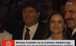 Mariano González: otros políticos que enfrentaron un escándalo sentimental