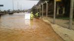 Costa Verde: tránsito vehicular fue reabierto tras aniego - Noticias de geomallas