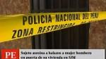 Mujer fue asesinada a balazos en su vivienda en Sa...